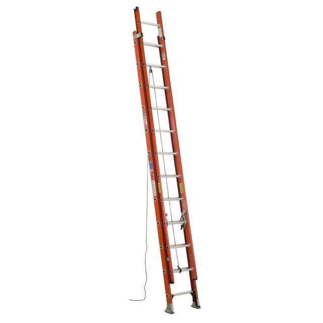 Where to find 24  EXT FIBERGLASS LADDER in Justin