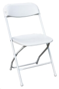 Rental store for FOLDING CHAIR BRIGHT WHITE in Justin TX