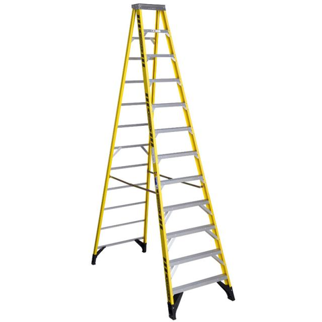 Where to find 12  FIBERGLASS LADDER in Justin