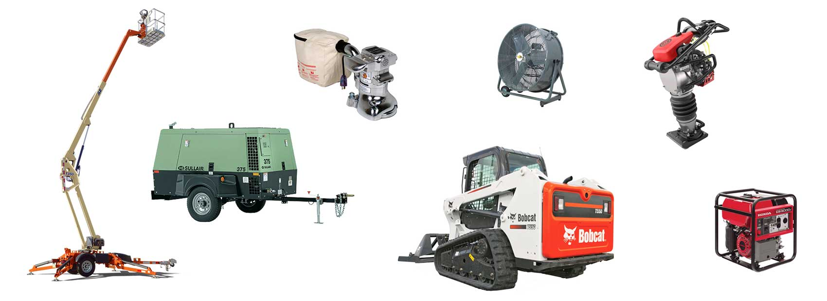 Equipment Rentals in Justin TX, Ponder, Haslet, New Fairview, Rhome, Northlake, Krum